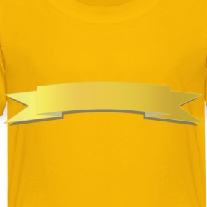 Gold Banner - Toddler Premium T-Shirt
