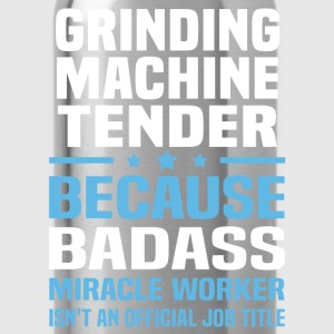 Grinding Machine Tender Tshirt - Water Bottle