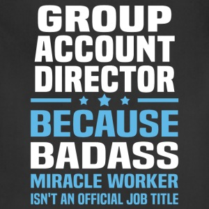 Group Account Director Tshirt - Adjustable Apron