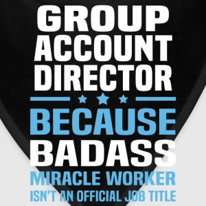Group Account Director Tshirt - Bandana