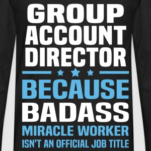 Group Account Director Tshirt - Men's Premium Long Sleeve T-Shirt