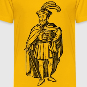 Hungarian of the 16th century - Toddler Premium T-Shirt