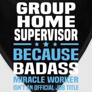 Group Home Supervisor Tshirt - Bandana