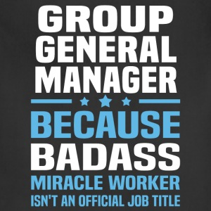 Group General Manager Tshirt - Adjustable Apron