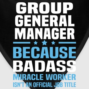 Group General Manager Tshirt - Bandana
