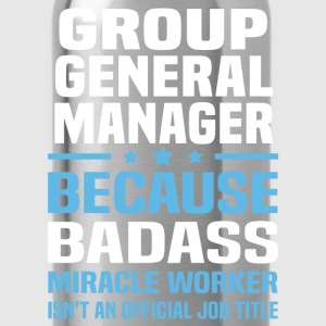 Group General Manager Tshirt - Water Bottle