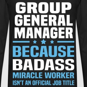 Group General Manager Tshirt - Men's Premium Long Sleeve T-Shirt
