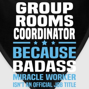 Group Rooms Coordinator Tshirt - Bandana