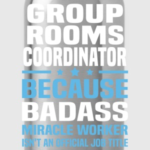 Group Rooms Coordinator Tshirt - Water Bottle