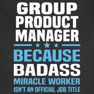 Group Product Manager Tshirt - Adjustable Apron
