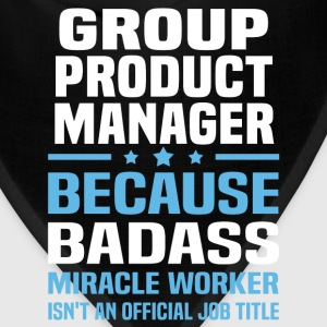 Group Product Manager Tshirt - Bandana