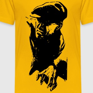 Man in cap - Toddler Premium T-Shirt