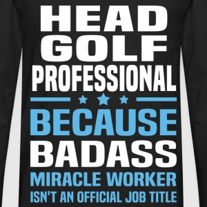 Head Golf Professional Tshirt - Men's Premium Long Sleeve T-Shirt