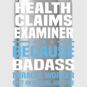 Health Claims Examiner Tshirt - Water Bottle