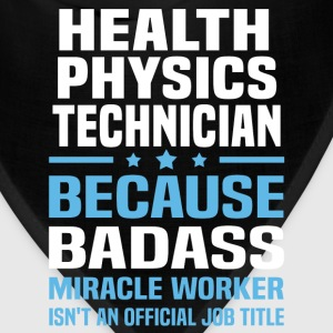 Health Physics Technician Tshirt - Bandana
