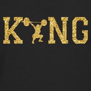 King of weightlifting Caps - Men's Premium Long Sleeve T-Shirt