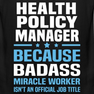 Health Policy Manager Tshirt - Men's Premium Tank