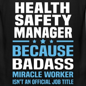 Health Safety Manager Tshirt - Men's Premium Tank