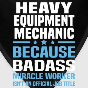 Heavy Equipment Mechanic Tshirt - Bandana