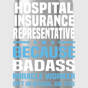 Hospital Insurance Representative Tshirt - Water Bottle