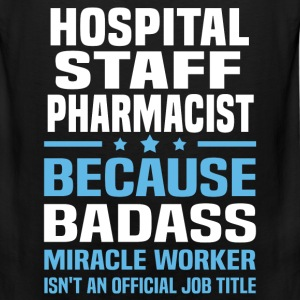Hospital Staff Pharmacist Tshirt - Men's Premium Tank