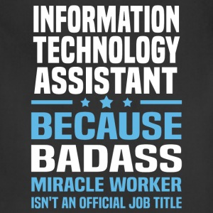 Information Technology Assistant Tshirt - Adjustable Apron