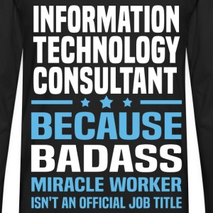 Information Technology Consultant Tshirt - Men's Premium Long Sleeve T-Shirt