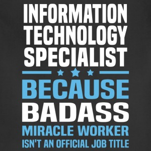 Information Technology Specialist Tshirt - Adjustable Apron