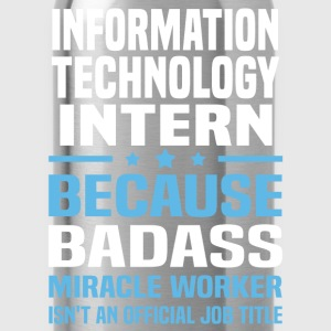 Information Technology Intern Tshirt - Water Bottle