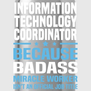 Information Technology Coordinator Tshirt - Water Bottle