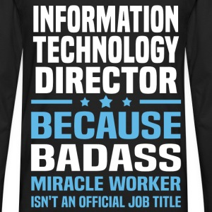 Information Technology Director Tshirt - Men's Premium Long Sleeve T-Shirt