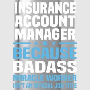 Insurance account manager Tshirt - Water Bottle