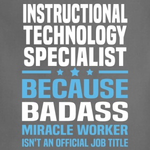 Instructional Technology Specialist Tshirt - Adjustable Apron