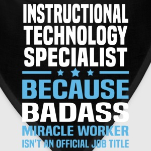 Instructional Technology Specialist Tshirt - Bandana