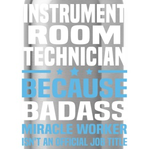 Instrument Room Technician Tshirt - Water Bottle