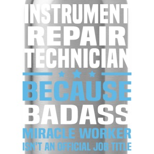 Instrument Repair Technician Tshirt - Water Bottle