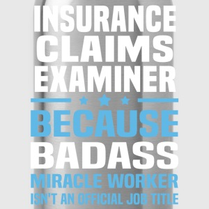 Insurance Claims Examiner Tshirt - Water Bottle