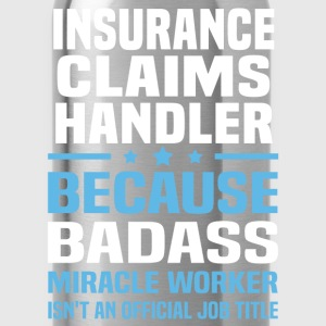 Insurance Claims Handler Tshirt - Water Bottle