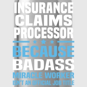 Insurance Claims Processor Tshirt - Water Bottle