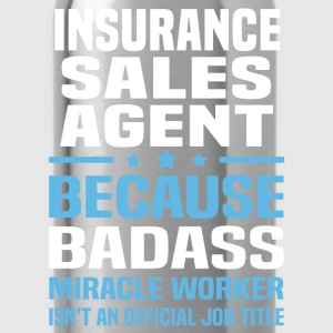 Insurance Sales Agent Tshirt - Water Bottle