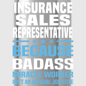 Insurance Sales Representative Tshirt - Water Bottle