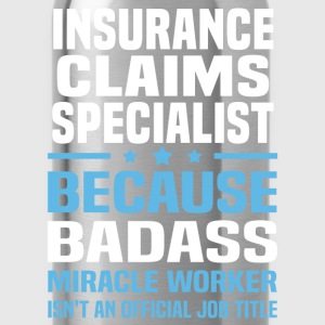 Insurance Claims Specialist Tshirt - Water Bottle