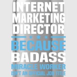 Internet Marketing Director Tshirt - Water Bottle