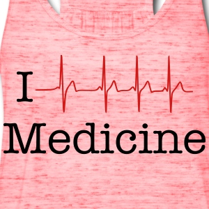 i  heart  medicine T-Shirts - Women's Flowy Tank Top by Bella