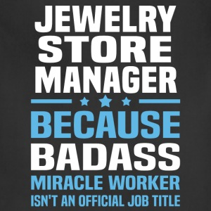 Jewelry Store Manager Tshirt - Adjustable Apron