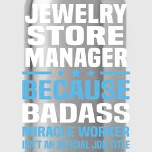 Jewelry Store Manager Tshirt - Water Bottle