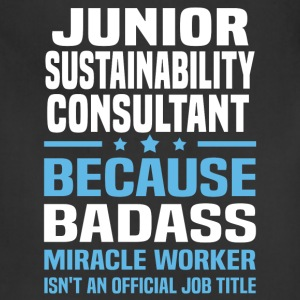 Junior Sustainability Consultant Tshirt - Adjustable Apron