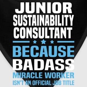 Junior Sustainability Consultant Tshirt - Bandana