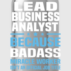 Lead Business Analyst Tshirt - Water Bottle