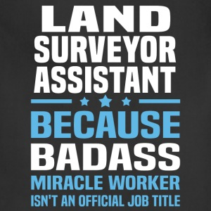 Land Surveyor Assistant Tshirt - Adjustable Apron